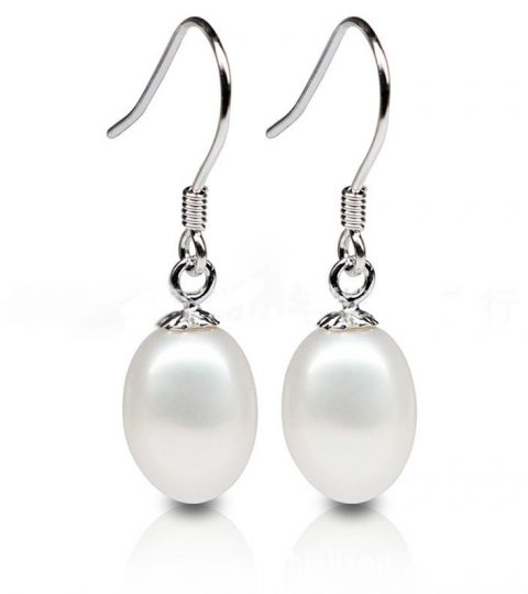 Pearl Bean Earrings