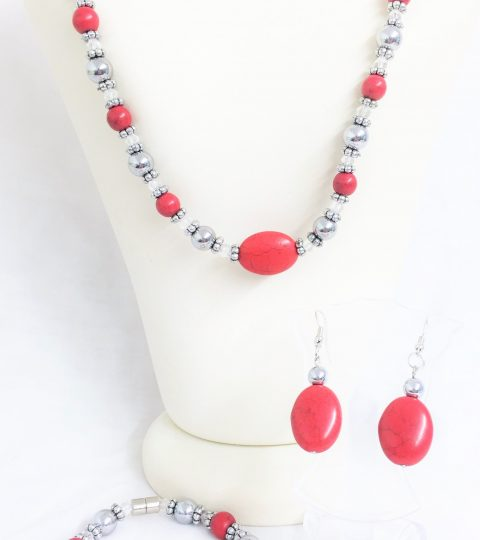 Berry Necklace & Bracelet
