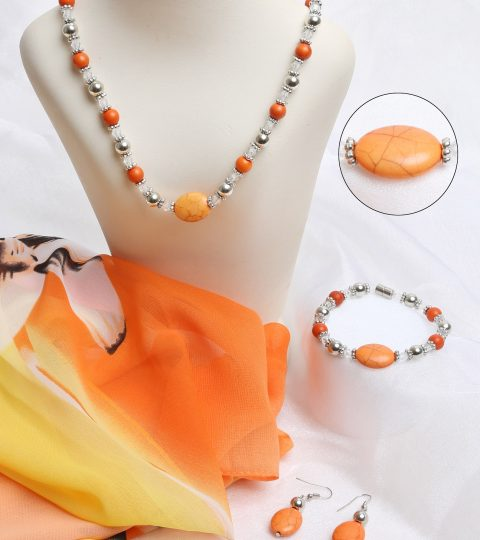 Sunrise Necklace & Bracelet