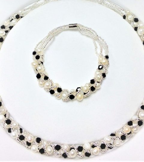 Athena Necklace & Bracelet