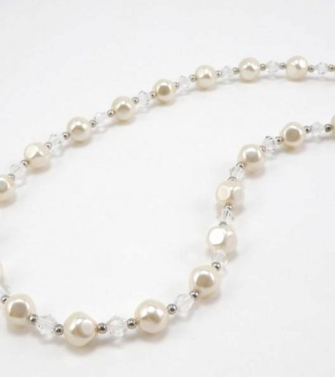 Satin Pearl Necklace