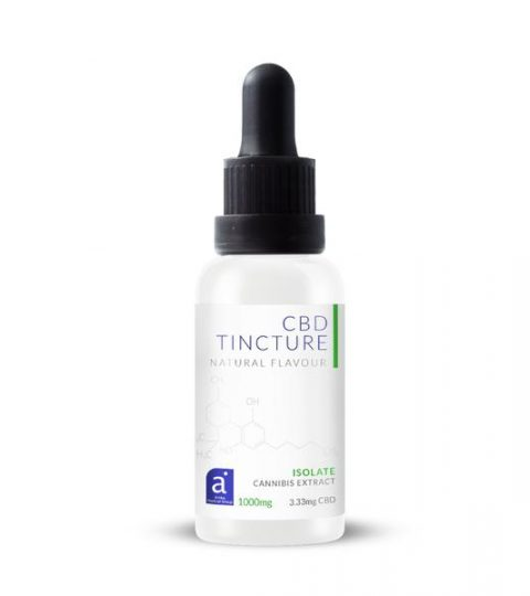 Natural Plant Based CBD Tincture – Isolate