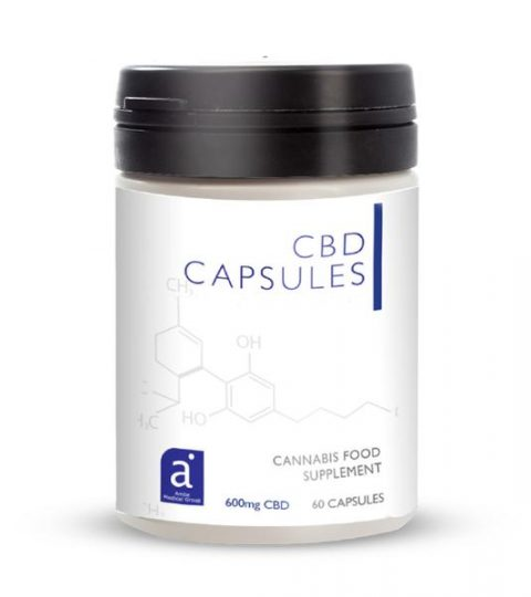 Natural Plant Based CBD Capsules